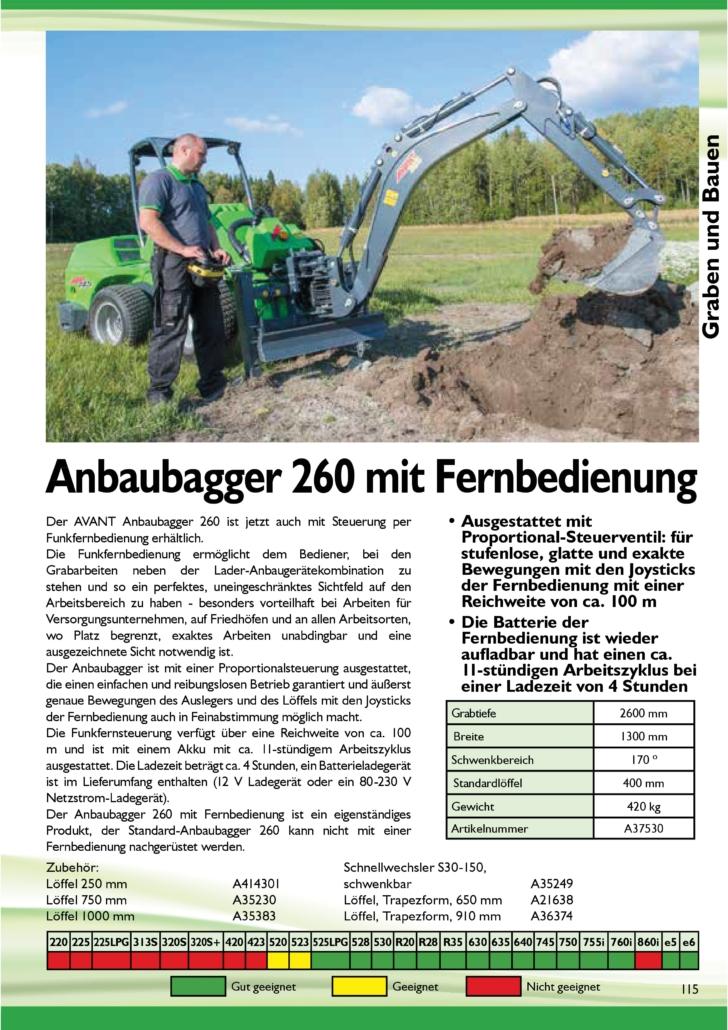 Bagger 260