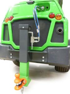 Anhängerkupplung hydraulisch