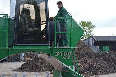 Kompostwendemaschine