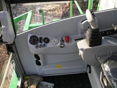 Kabine Kompostwendemaschine