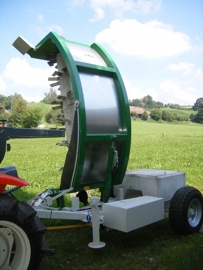 traktor gezogene Kompostwender