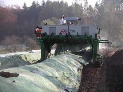 Kompostwendemaschine Vielroller