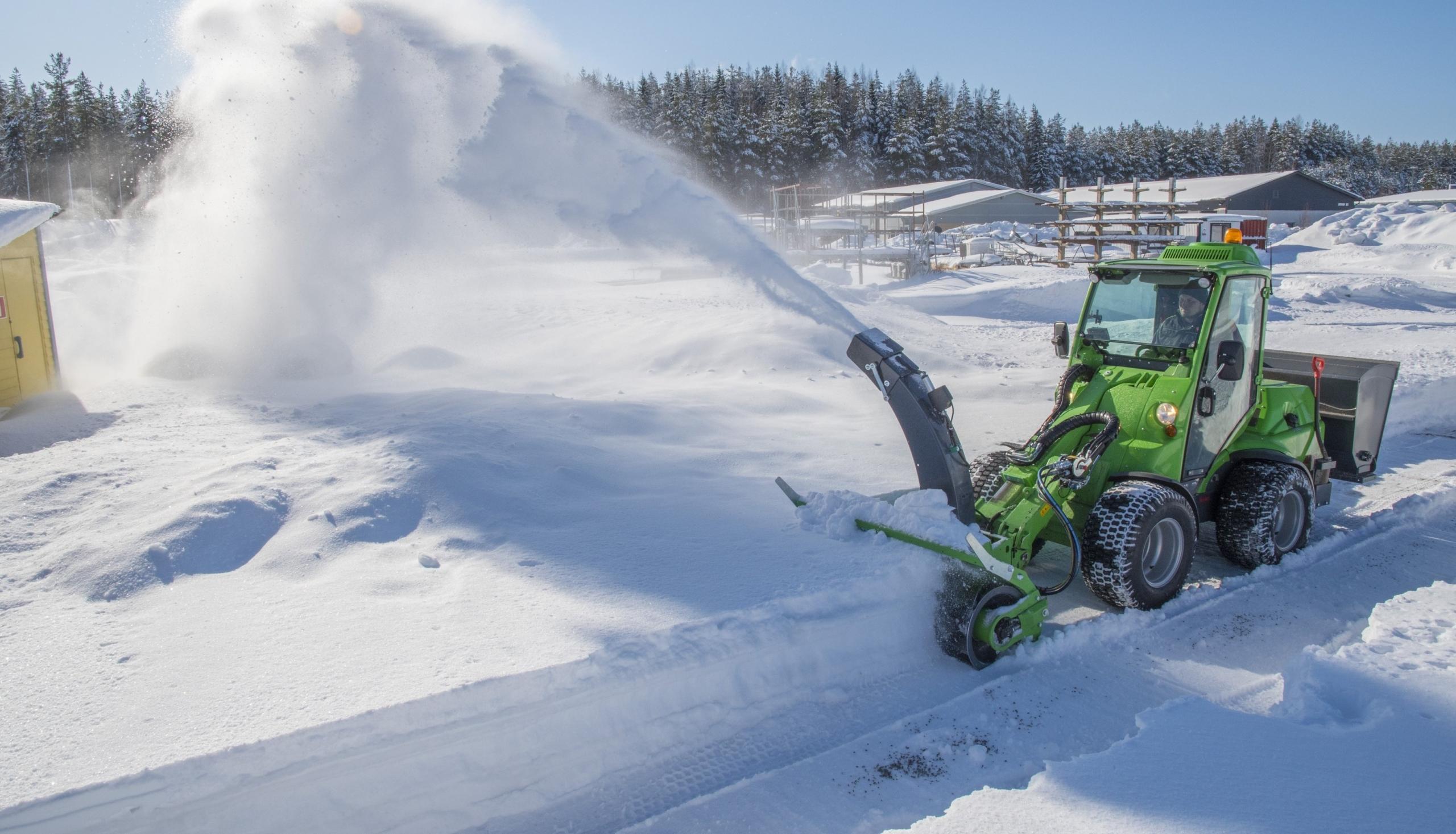 Winterdienstmaschine
