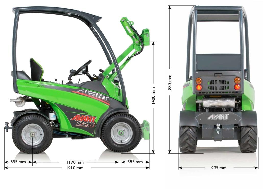 Avant 220 und Avant 225 Rider