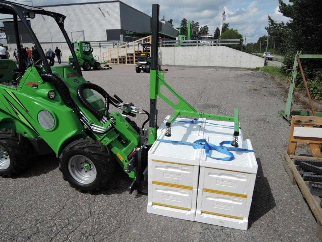 Bienenstocktransporter
