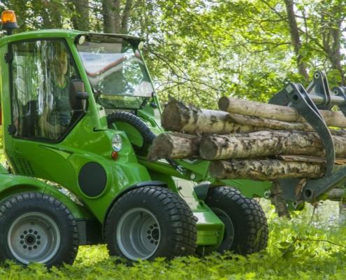 Holz Greifer Anbaugerät