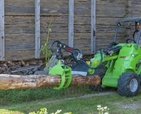Holzgreifer mit Rotation Avant